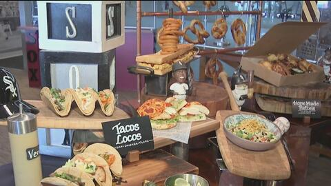 Estadio de los White Sox estrena nuevas opciones culinarias