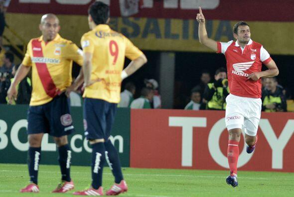 José julián de la Cuesta al minuto 57 anotó el gol...