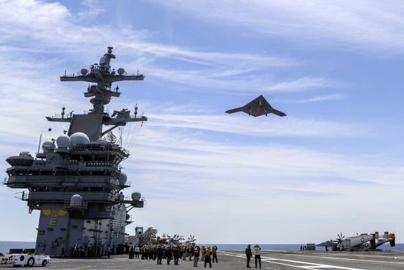 La Marina de Estados Unidos efectuó por primera vez el lanzamiento de un...