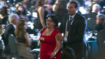 Joven interrumpe a Obama en Gala Hispana