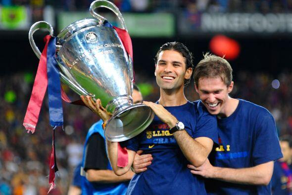 Rafael Márquez vivió su última campaña con el Barcelona. Pudo enfrentar...