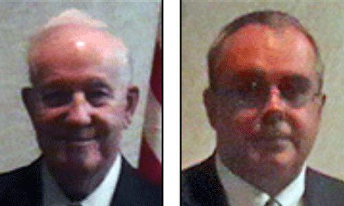 """Los candidatos del Partido de la Prohibición: Lowell """"Jack"""" Fellure y To..."""