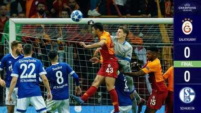 Galatasaray y Schalke se reparten los puntos en Estambul