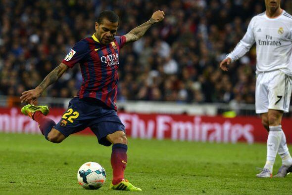 El Barcelona tomó más confianza y se atrevió a atacar con suma presión....