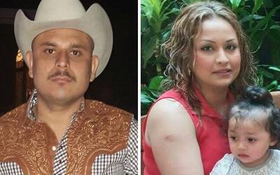 Verónica Mercado y su pequeña hija Linnete Cano fueron ase...