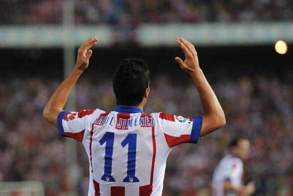 El otro delantero del que hablamos es Raúl Jiménez, el atacante provenie...