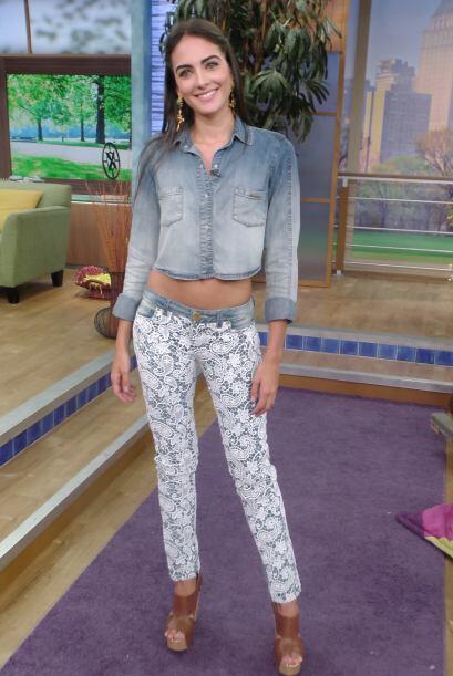 Al programa llegó la Top Model colombiana Daniela Botero, para hablarnos...
