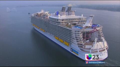 Luces, cámara y acción: Conoce el crucero más grande del mundo