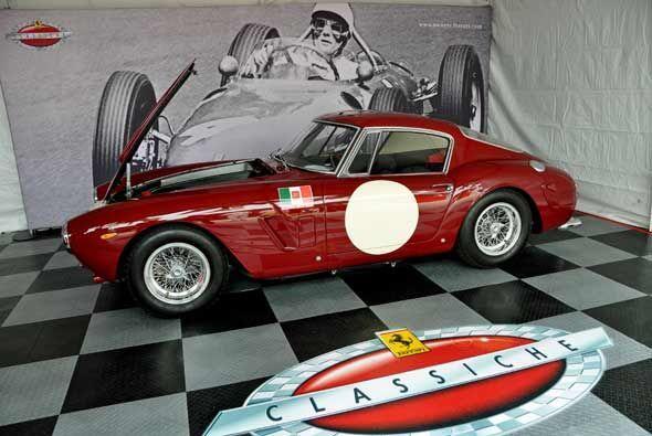 El Ferrari 250 GT Berlinetta, uno de los más potentes de la Serie 250, g...