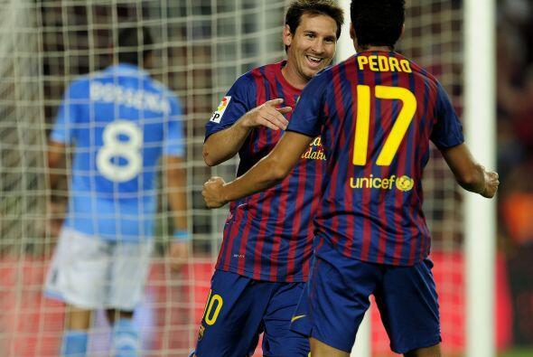 Y lo que faltaba. Messi no quería irse sin anotar y no fue as&iac...