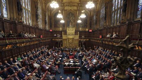 Imagen de miembros del Parlamento del Reino Unido en 2015.