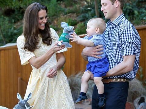 El príncipe George de Cambridge dejó en claro cuánt...