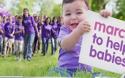 Marcha por los bebés que nacen con alguna condición médica