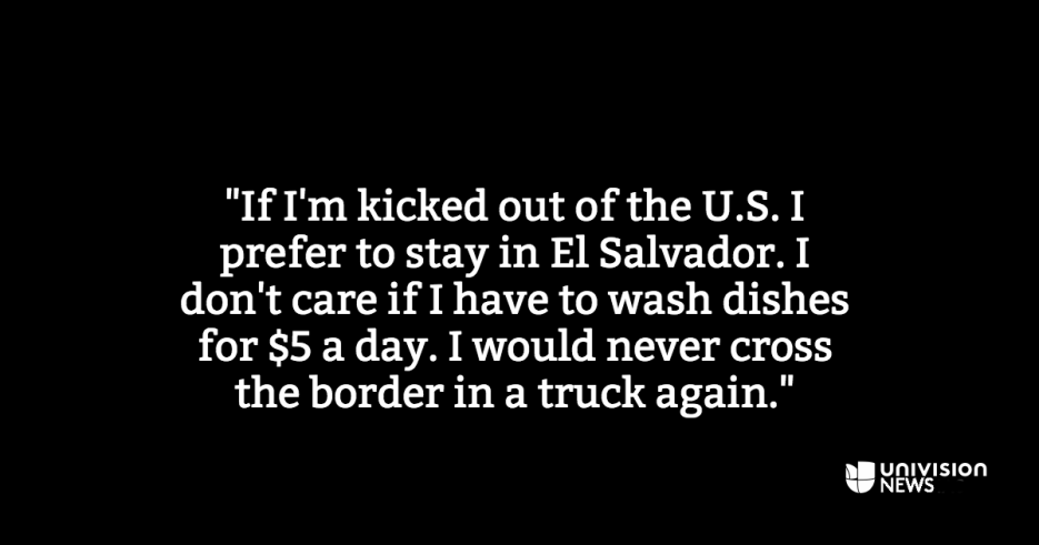 Memories from the back of a truck: here's how immigrants remember the jo...