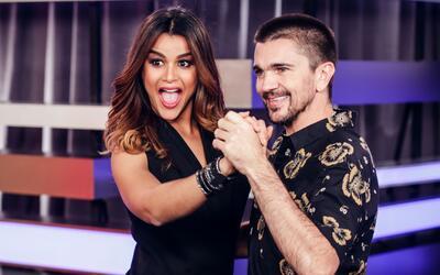Juanes bailó 'merengue bachateado' con Clarissa Molina