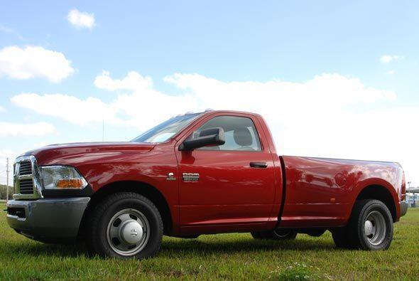 La Dodge Ram 3500 es la más grande de la línea de camionetas de la marca.