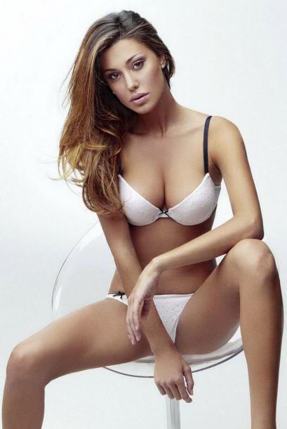 La modelo argentina, quien es conductora de la televisión italiana, ha c...
