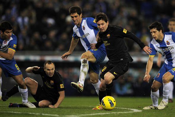 En más de una ocasión, el argentino falló ocasiones y no encontró el mod...