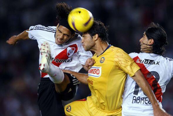 América es el equipo que más veces ha enfrentado a River Plate en el Mon...