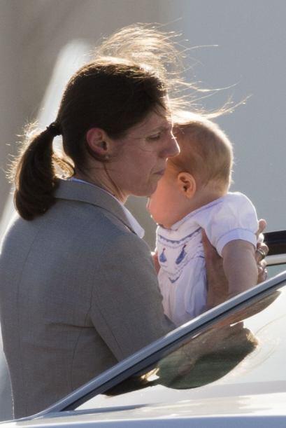 Kate Middleton no es la única que se encarga de cuidar al bebé real, ser...
