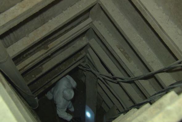 Univision Noticias entró al túnel por el que supuestamente...