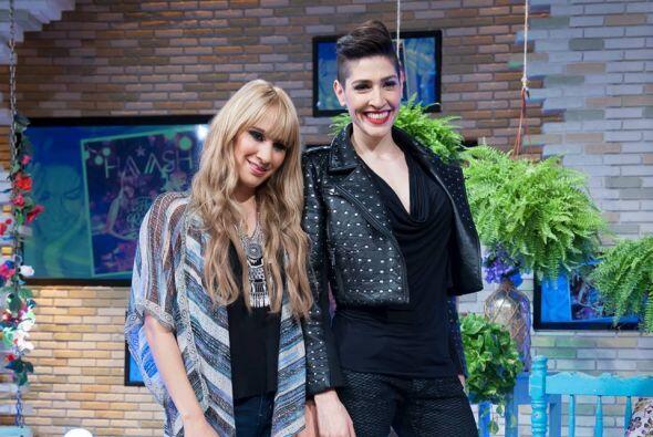 Y el martes 9 de junio, el programa recibió al mejor dúo de rock-pop ¡Ha...