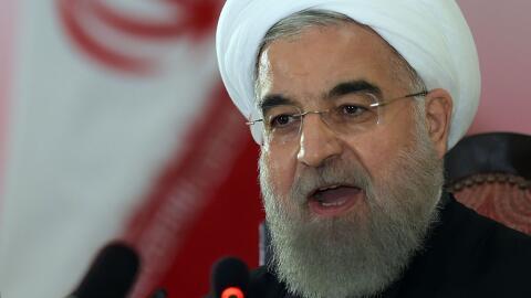 Rouhani dijo este martes que cualquier medida de EEUU no afectará...