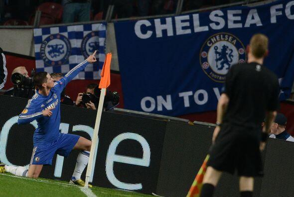 1-0 en favor de los 'Blues' cortesía del atacante ibérico.