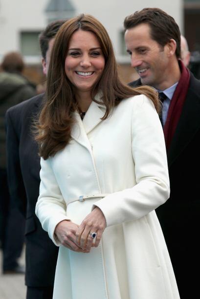 La duquesa de Cambridge reapareció tras pasar dos semanas en el Caribe.