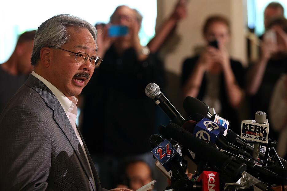 El alcalde de San Francisco, Ed Lee.