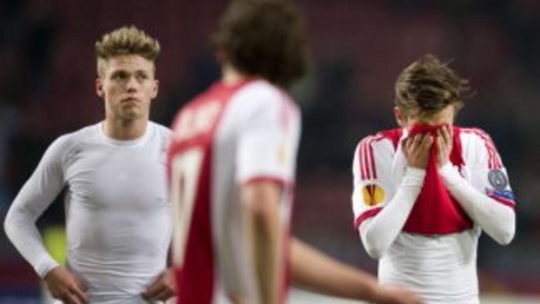 Ajax fue eliminado por el Salzburgo