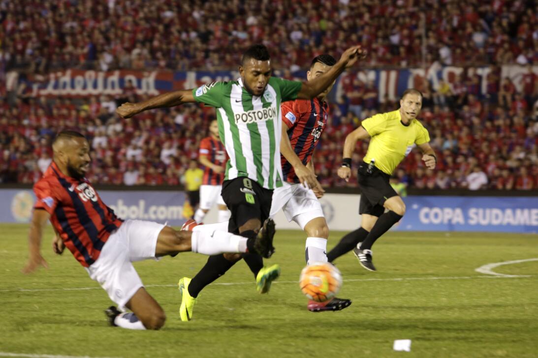 Miguel Borja, el delantero que suena para la Liga MX GettyImages-6201573...