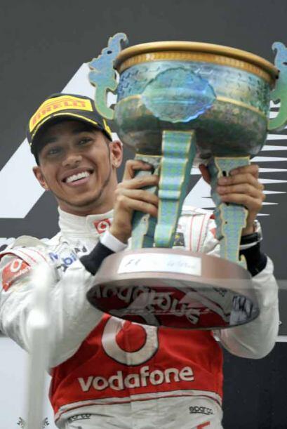 Un trofeo muy al estilo de la tradicional china para honrar al ganador.