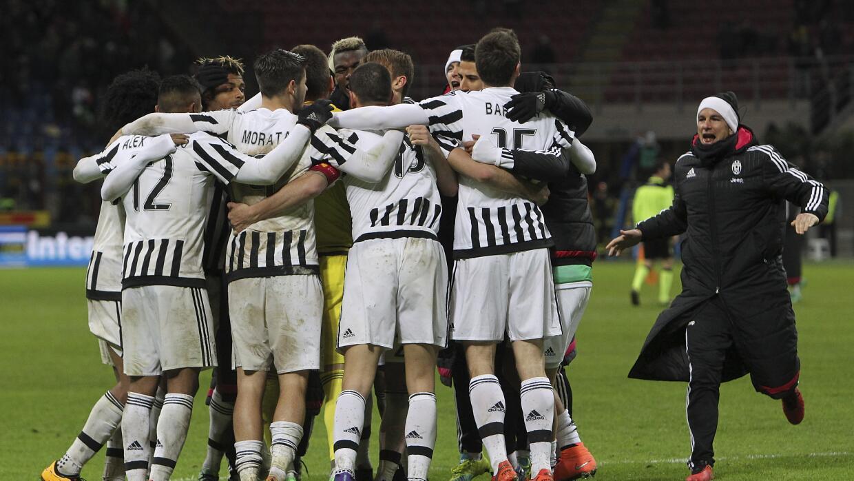 Juventus jugará la final ante el Milan.
