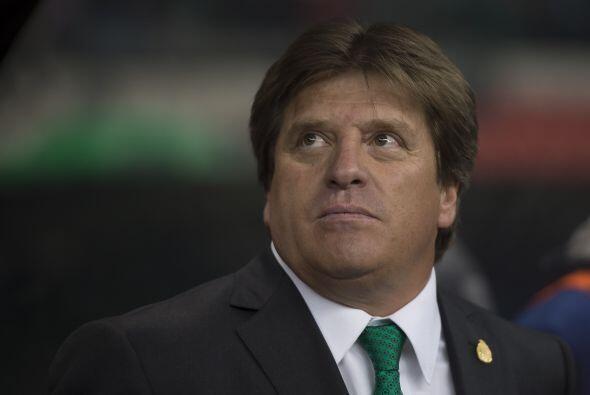El técnico de la Selección Mexicana, Miguel Herrera, ya tiene en la mira...