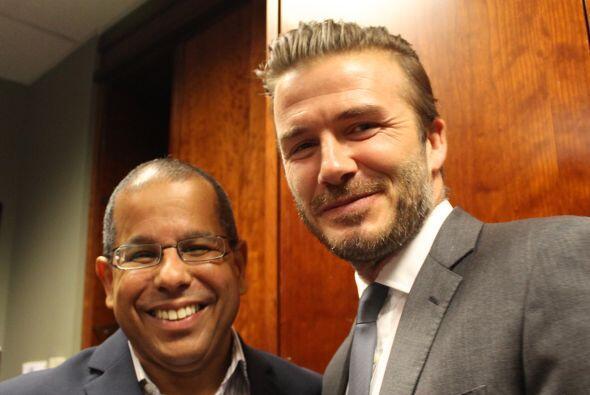 Beckham y José Alfonso Almora, personalidad, Univision America
