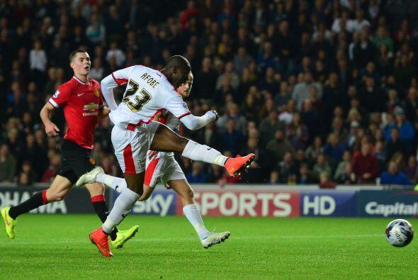 El cuadro del Manchester United quedó eliminado de la Capital One al per...