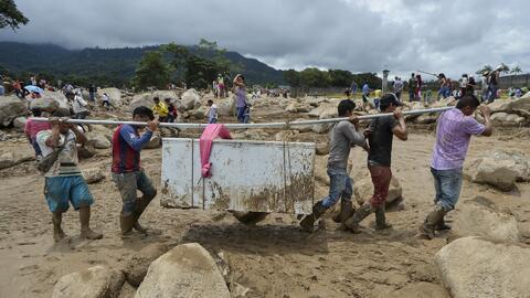 Ya son 262 las víctimas de la avalancha mortal en Mocoa, Colombia
