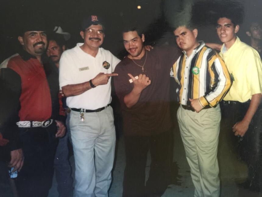 Los primeros días de radio de Raúl 'El Pelón'.