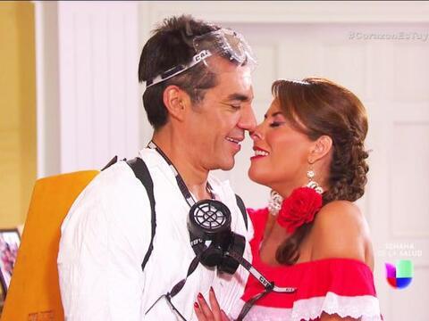 ¡Traes totalmente loquita a Manuela, Johnny!  ¿Pues qu&eacu...