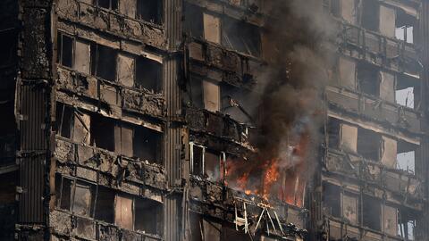 Como una película de terror: así describen el incendio que consumió una...