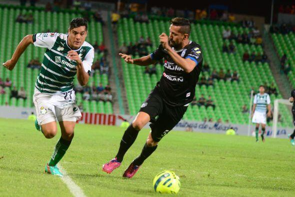 Gallos cayó con Pachuca (2-1), en la fecha tres. Perdió con Santos en la...