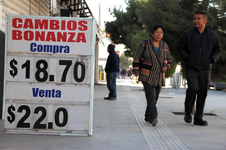 Devaluación del peso mexicano