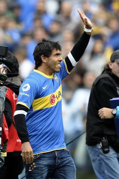 Carlos Tévez volvió a Boca Juniors, pero de visita, el ´Apache´ sigue po...