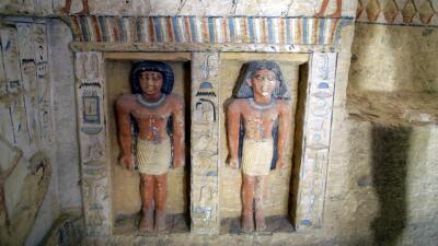 Egipto descubre una tumba de 4,400 años de antigüedad
