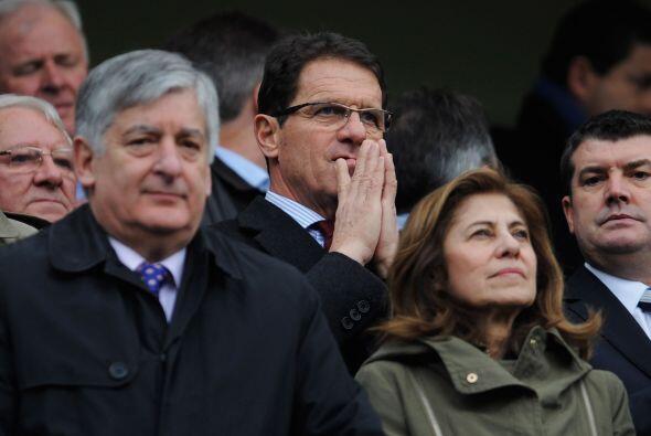El partido contó con la presencia del seleccionador italiano de la selec...