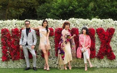 Inició el rodaje de la serie 'La casa de las flores'
