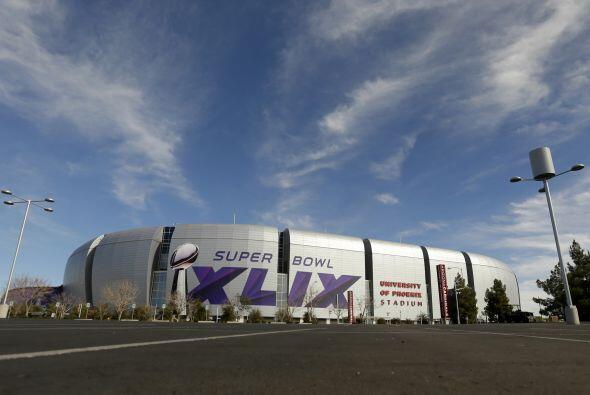 El Super Bowl XLIX tendrá lugar el 1 de febrero en el Estadio de la Univ...