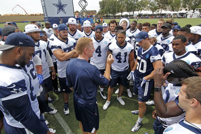El training camp de los Dallas Cowboys comenzó este lunes 24 de j...