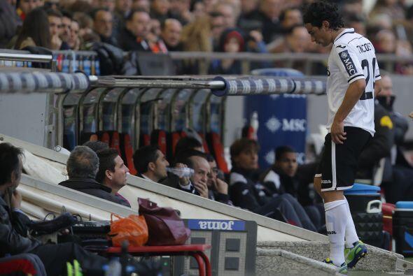 El argentino Tino Costa fue expulsado.